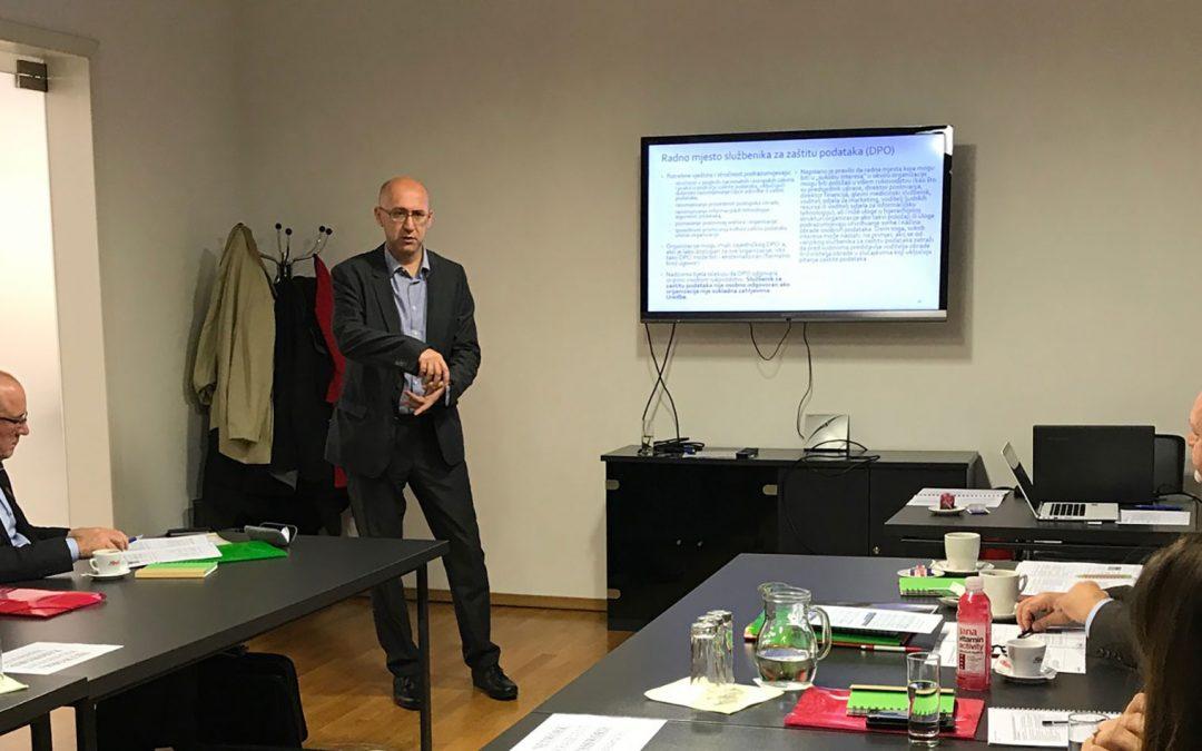 GDPR jednodnevni seminar